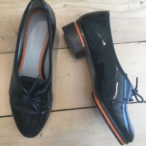 Jason Wu Terese Patent Leather Oxfords Loafer